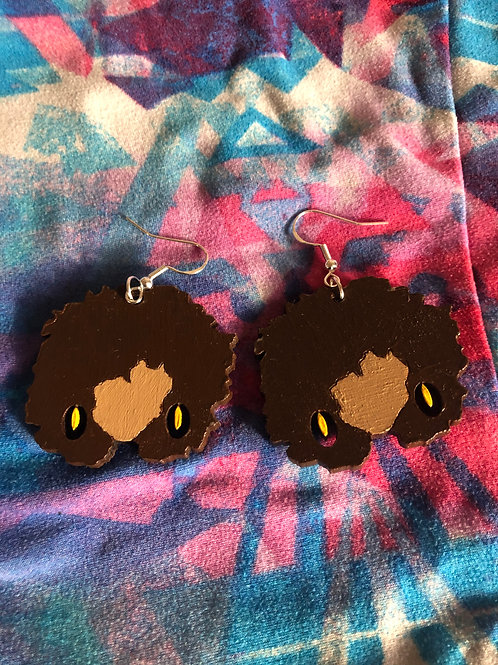 Levia~ Sunshine earrings (honey)