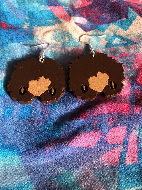 Levia~ Gold earrings (honey)