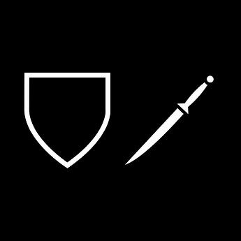 Paladin Rogue Logo - Square Minimalist.p