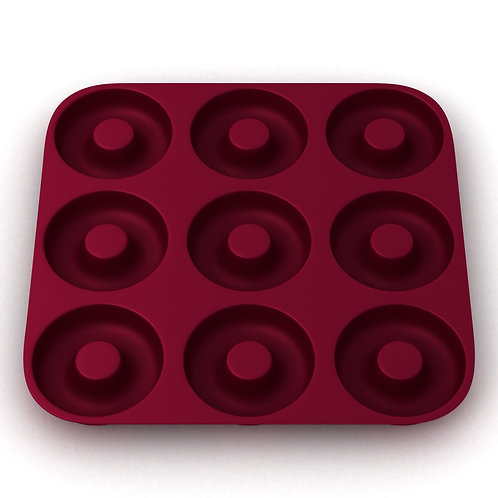 More Cuisine Essentials Silicone Doughnut Mold
