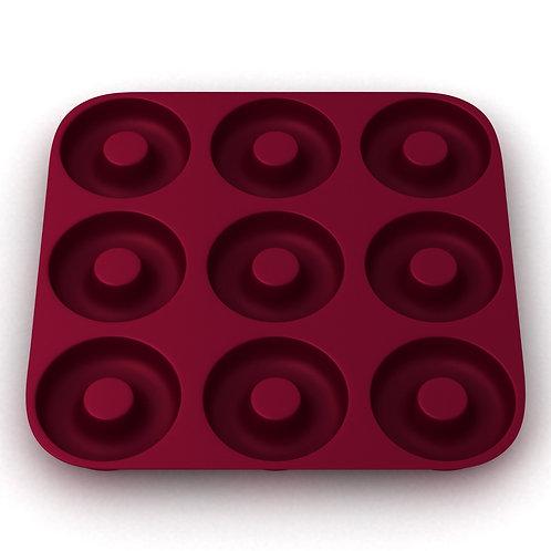 More Cuisine Essentials Silicone Doughnut Mold