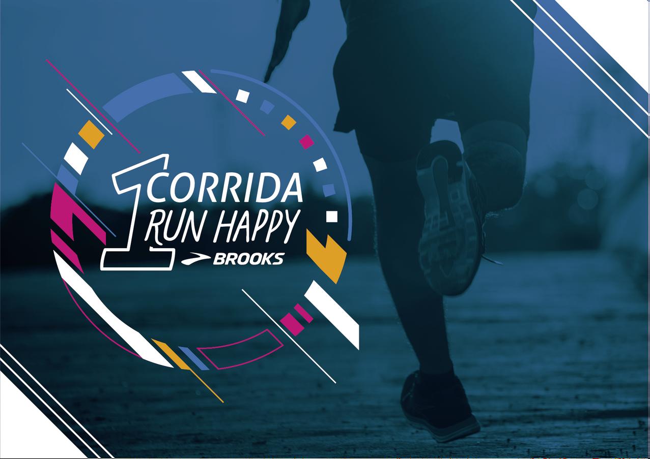 Run Happy BROOKS