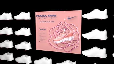 Nike Pegasus Metallic Sheen - Expositor