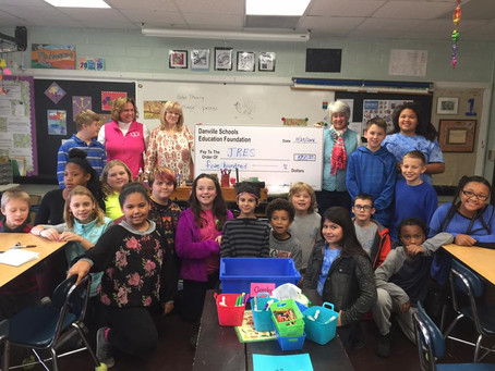 Danville Schools Education Foundation Hoping to Grow Giving Tuesday Donations