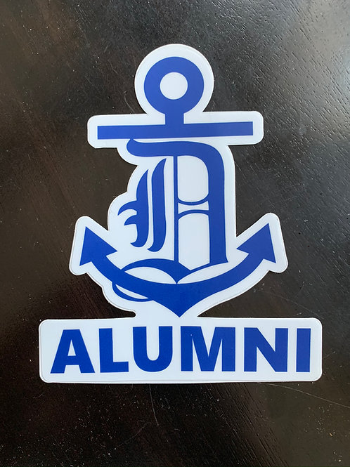 Admiral Alumni Sticker