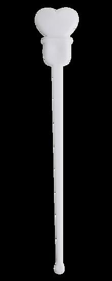 Heart Plug Stick -WHITE