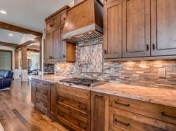 Stone wood granite polished