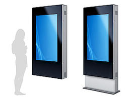 Digital Signage Stele Outdoor Selket XL - Portrait
