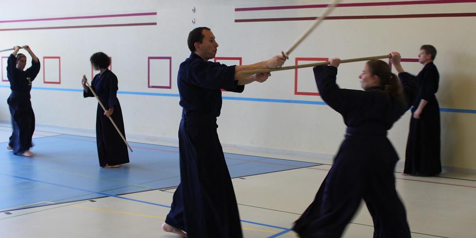 Neueinsteiger Training Jodo