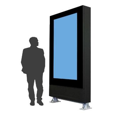 """Portrait-Gemähuse Outdoor für 75"""" Monitor"""