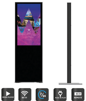Digitale Indoor-Stele G-LUNOS