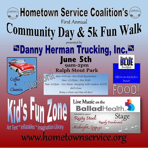 Hometown Service Fun Walk 11x11 tomahawk