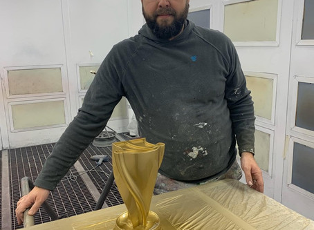 Colaboración para trofeo Supercopa