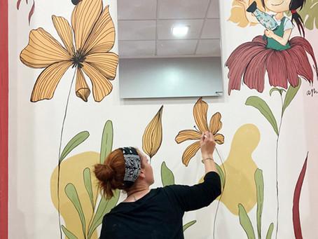 Pintura mural personalizada