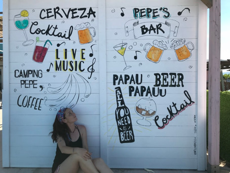 Pintura Mural Hand Made Lettering