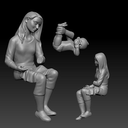 ref. 91 madre con bebe