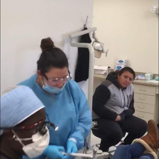 The team partnered with Fortis College Dental Hygiene Department and the Georgia chapter of the American Dental Associat