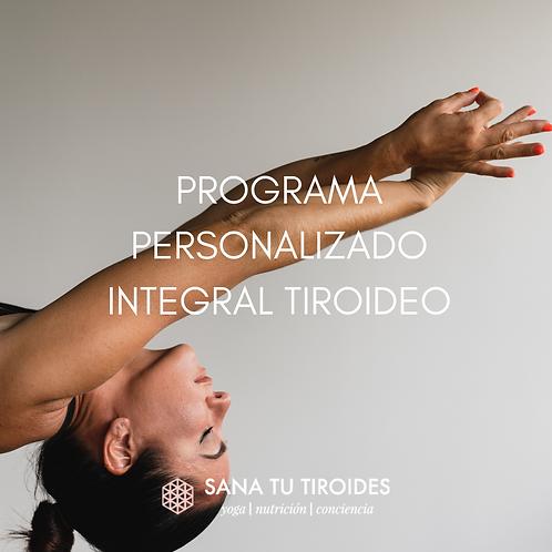 PROGRAMA PERSONALIZADO INTEGRATIVO DE TIROIDES