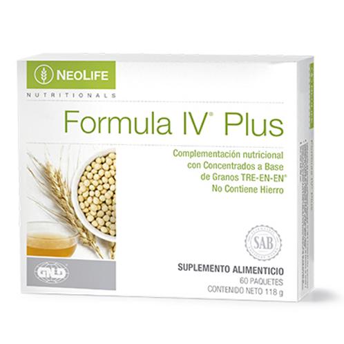 FORMULA IV Plus- Multivitamínico 60 paquetes, 2 unidades por paquete