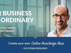 Develop a full-blown business application without a single code
