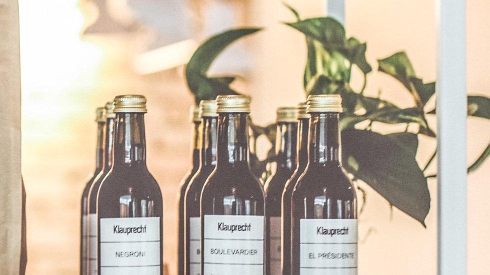 Bottle Aged Cocktails