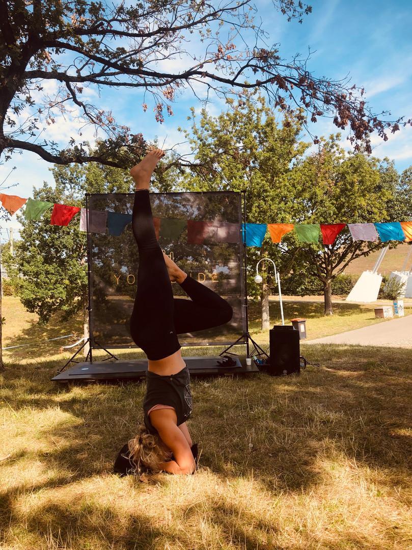 Yoga bei Das FEST 2019, Karlsruhe