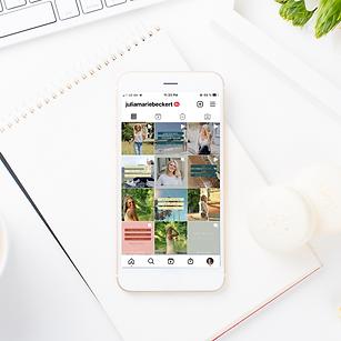 Instagram Feed, Instagram für Coaches, Personal Brand auf Social Media, Julia Marie Beckert Coaching
