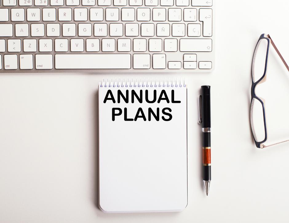 Social Media Jahresplanung und Strategie