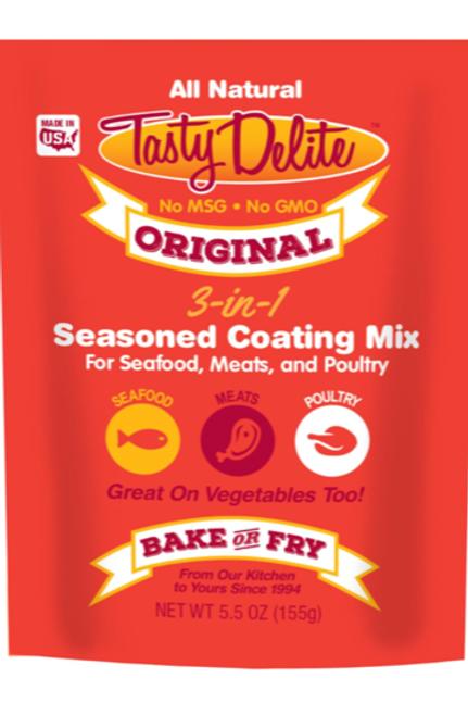 Tasty Delite Original 3 -in - 1 Seasoned Coating Mix/Breader