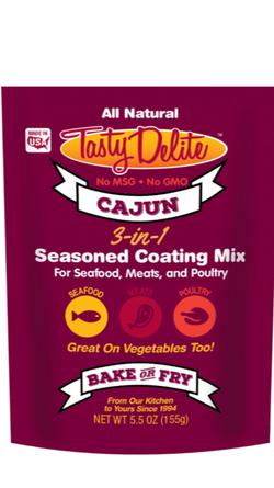 Cajun 3-in-1 Seasoned Coating Mix
