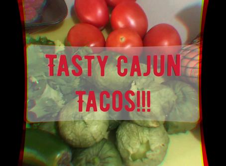Tasty Delite Cajun Tacos!!