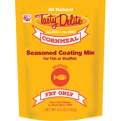 Tasty Delite Cornmeal Seasoned Coating Mix/Breader