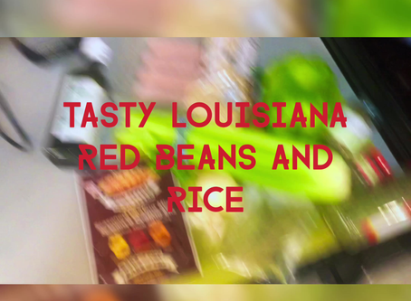Tasty Delite Cajun Red Beans and Rice