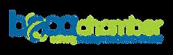 Boca Chamber Logo Blue proud member 2021
