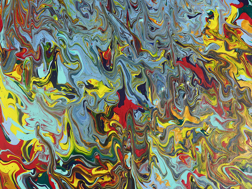 Home and identity. A fluid abstract representation.
