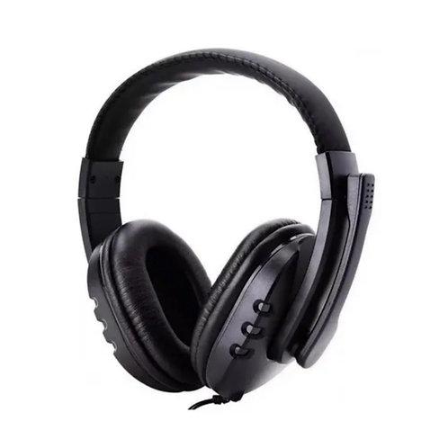 Headset PC - GAMER com microfone - Preto
