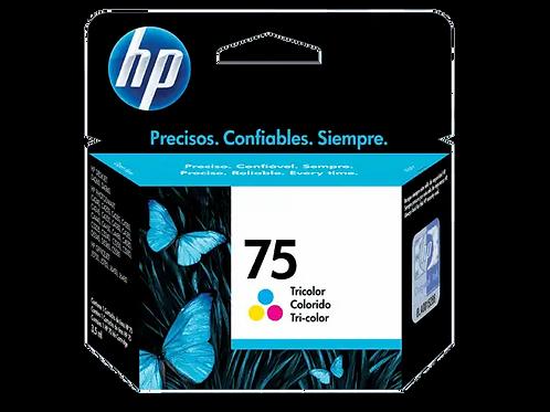 Cartucho HP 75 Colorido Original