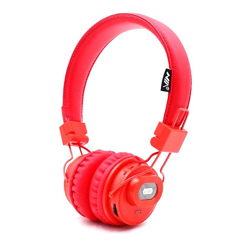 Fone Bluetooth New Nia - X5SP (vermelho - azul)