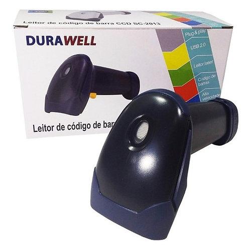 Scanner Leitor De Código Barra Laser Com Cabo Usb - Dura Well