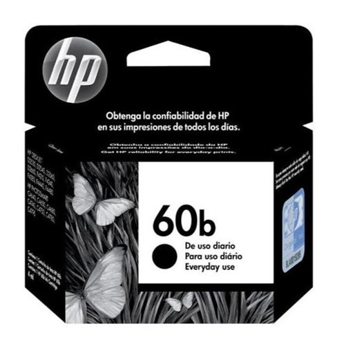 Cartucho HP 60b Preto Original