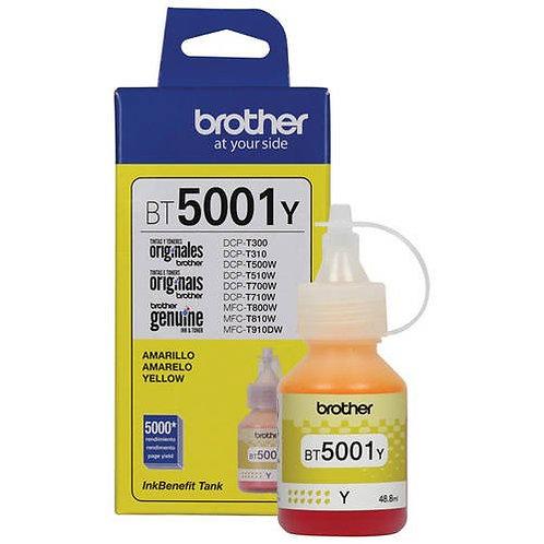 Garrafa de Tinta Brother 5001 Amarelo Original