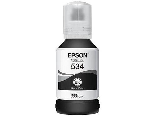 Garrafa de Tinta Epson EcoTank T534120 Preta - Original