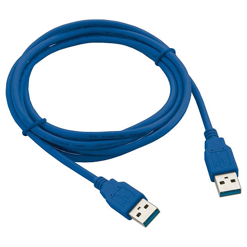 Cabo USB 3.0 MACHO X MACHO 1,5m