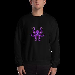 HAUS of NAVI Purple Logo Sweater