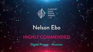 Recognition at CMDA2020 Awards!