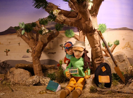 Stop motion animation gets art/science residency!