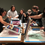 Screen printing event