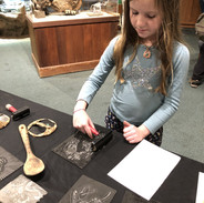 Printmaking at the Santa Cruz Museum of Natural History