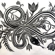 San Francisco Garter Snake print