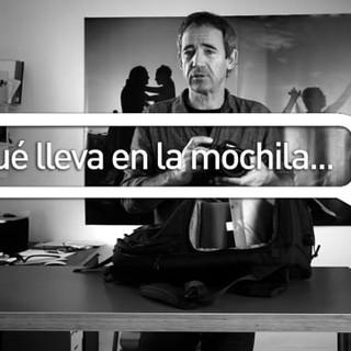 Qué lleva en la mochila… Fernando Moleres